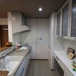キッチンスペースを広くとることで、家事を楽々に。